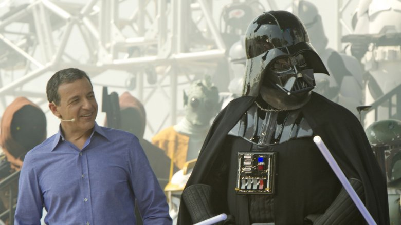 Bob Iger, Darth Vader