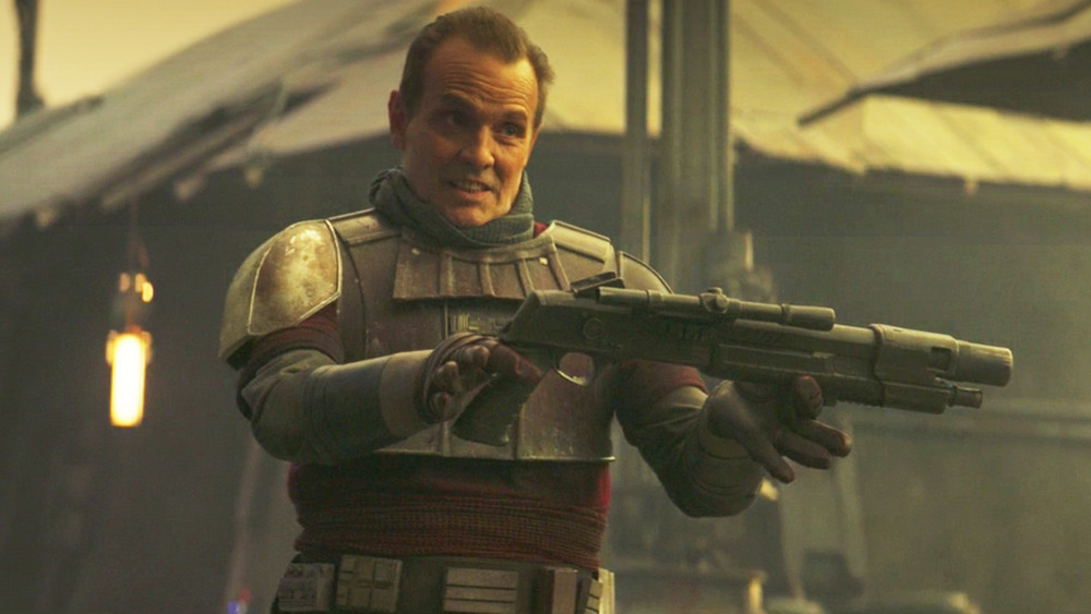 Why Lang's shotgun in The Mandalorian chapter 13 means more than you realized