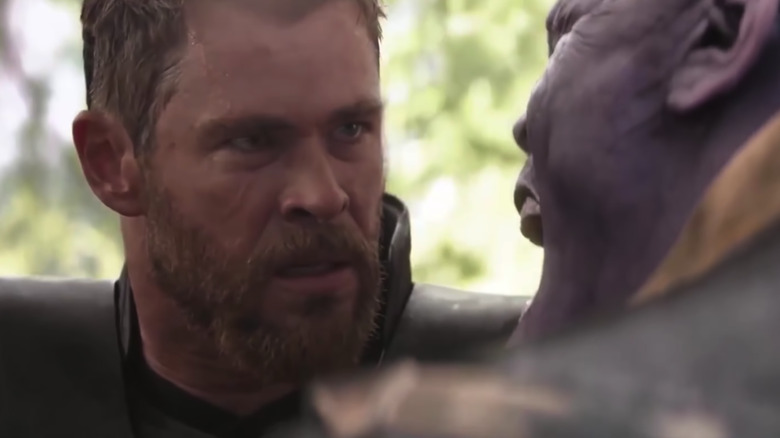 Thor and Thanos