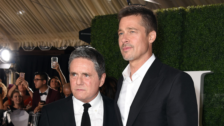 Brad Grey and Brad Pitt