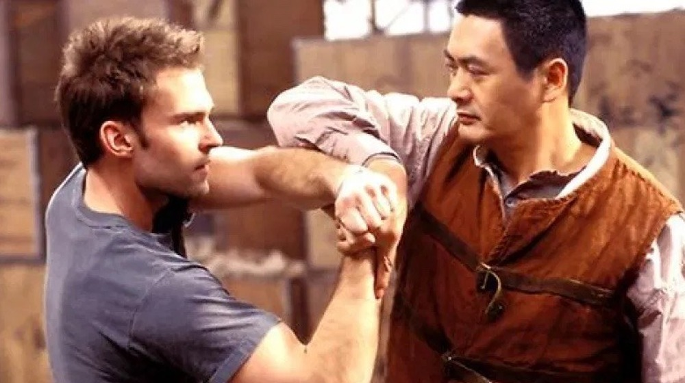 Seann William Scott and Chow Yun-Fat in Bulletproof Monk