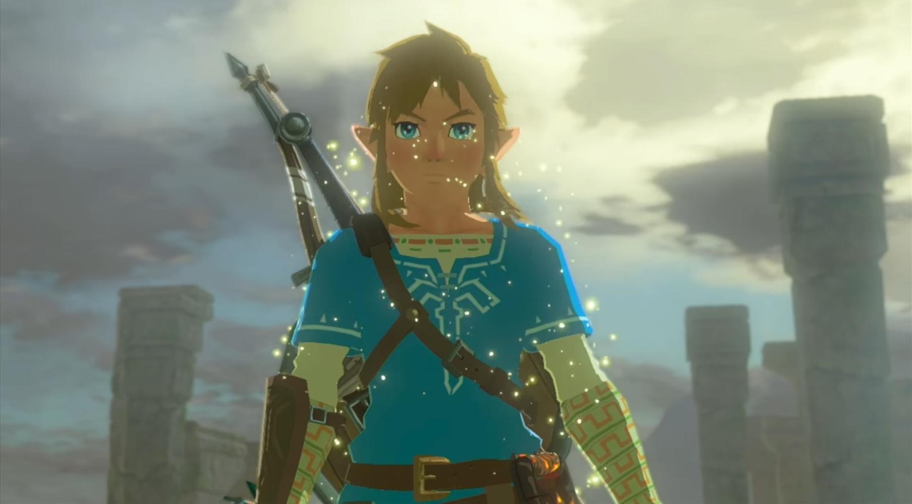 Full Legend Of Zelda Breath Of The Wild Map Revealed